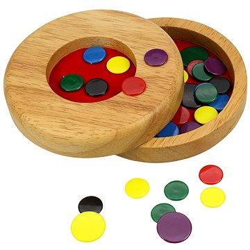Dřevěná hra - Blechy - Společenská hra