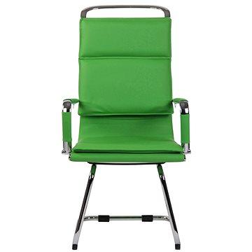 BHM Germany Bedford, syntetická kůže, zelená - Konferenční židle