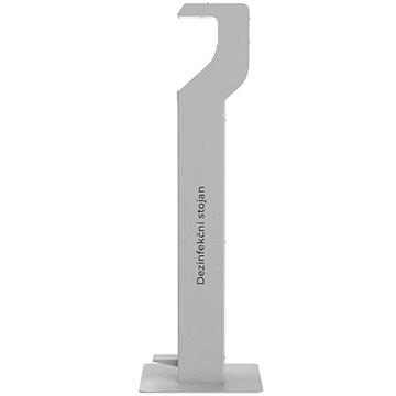 BOROVKA RENTAL DESIGN bezdotykový stojan na dezinfekci - šedý - Dezinfekční stojan