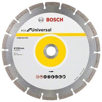 BOSCH Universal 230x22.23x2.6x7mm - Diamantový kotouč