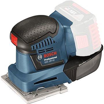 Bosch GSS 18V-10 Professional bez AKU - Vibrační bruska