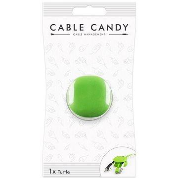 Cable Candy Turtle zelený  - Organizér kabelů