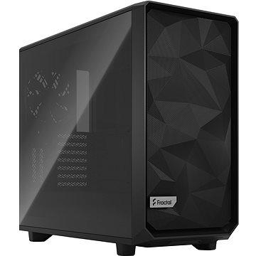 Fractal Design Meshify 2 Black TG Light - Počítačová skříň
