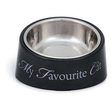 Pet Amour DBL My Favourite Cat šedá 200ml - Miska pro kočky