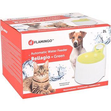Flamingo Automatická fontánka Bellagio zelená 2000ml - Fontána pro kočky
