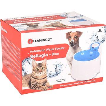 Flamingo Automatická fontánka Bellagio modrá 2000ml - Fontána pro kočky