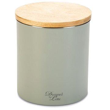 Pet Amour Dóza na pamlsky světle šedá 17 × 17 × 21 cm - Pamlskovník