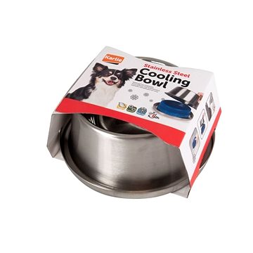 Karlie chladící miska 28 cm 1400 ml - Miska pro psy