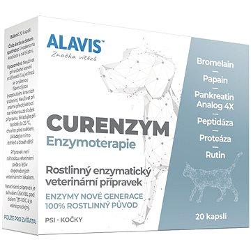 Alavis CURENZYM Enzymoterapie 20 kapslí - Doplněk stravy pro psy