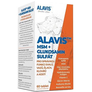 Alavis MSM + Glukosamin sulfát 60 tbl. - Kloubní výživa pro psy