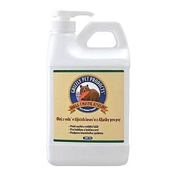 Lososový olej pes Grizzly Wild Salmon 2000ml - Olej pro psy
