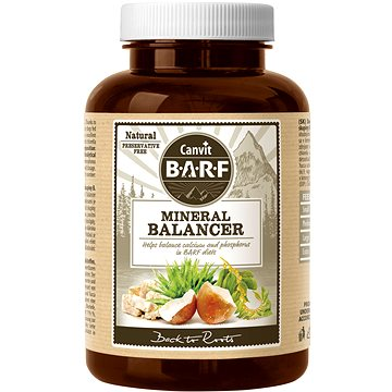 Canvit BARF Mineral Balancer 260 g - Doplněk stravy pro psy