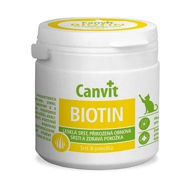 Canvit Biotin pro kočky 100g  - Doplněk stravy pro kočky
