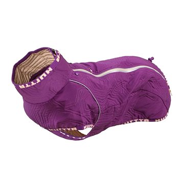 Obleček Hurtta Casual prošívaná bunda fialová 60XL - Obleček pro psy