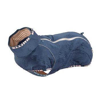 Obleček Hurtta Casual prošívaná bunda modrá 60XL - Obleček pro psy