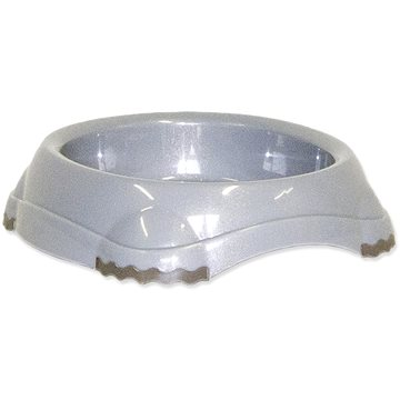 MAGIC CAT Miska plast s protiskluzem 210 ml šedá - Miska pro kočky