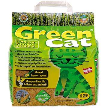 AGROS kočkolit Green cat 12 l - Stelivo pro kočky