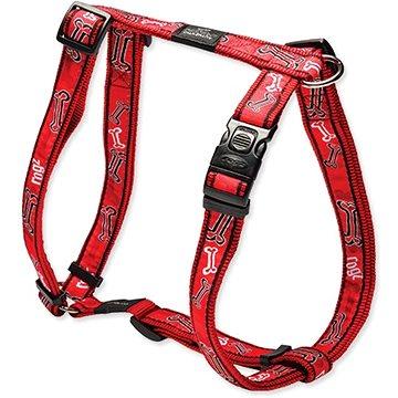 ROGZ postroj H Fancy Dress red bone 2,5×60-100cm - Postroj