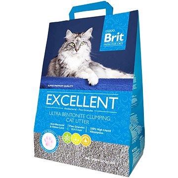 Brit Fresh for Cats Excellent Ultra Bentonite 5kg - Stelivo pro kočky