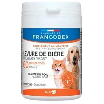 Francodex Brewer Yeast (pivovov. kvas) pes,kočka 60tab. - Doplněk stravy pro psy
