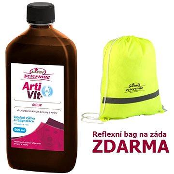 Vitar Veterinae Artivit sirup 500 ml + Zdarma Bag - Kloubní výživa pro psy