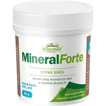 Vitar Veterinae Mineral Forte 80g - Minerály pro psy