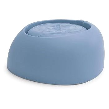 IMAC Fontána pro kočky a psy 220 V - 2000 ml - modrá- D 32 × Š 28 × V 13 cm - Fontána pro kočky