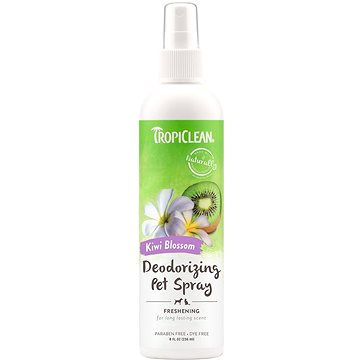 Tropiclean deodorantní sprej pro zvířata kiwi 236 ml - Roztok pro psy