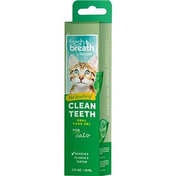 Tropiclean čistící gel na zuby pro kočky 59 ml - Prostředek na zuby