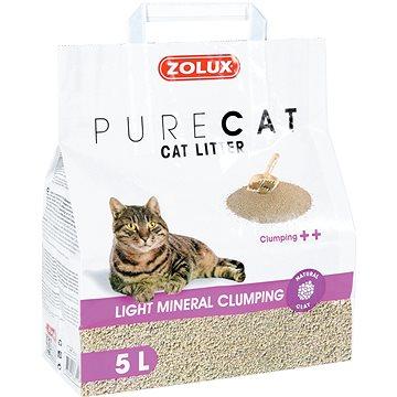 Zolux PURECAT premium light clumping 5l - Stelivo pro kočky