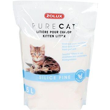 Zolux PURECAT silica kitten 5l - Stelivo pro kočky