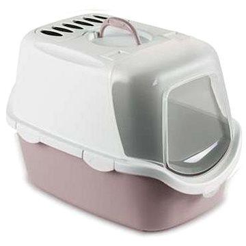 Stefanplast Cathy Easy Clean růžová 56 × 40 × 40 cm - Kočičí toaleta