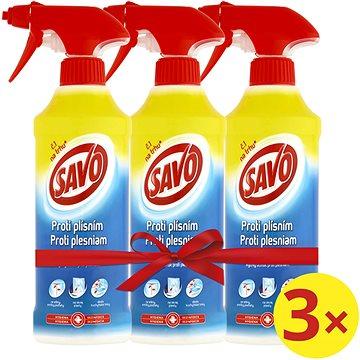 SAVO Proti plísním 3 × 500 ml - Čisticí prostředek