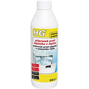 HG přípravek proti zápachu v myčce 500 ml - Čistič myčky