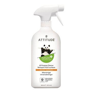 ATTITUDE Všeúčelový čistič s vůní citronové kúry s rozprašovačem 800 ml - Eko čisticí prostředek