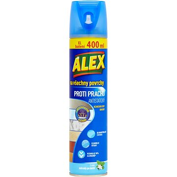 ALEX všechny povrchy proti prachu-aeros. 400 ml - Čistič nábytku