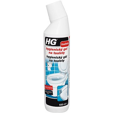 HG Hygienický gel na toalety 650 ml - WC čistič