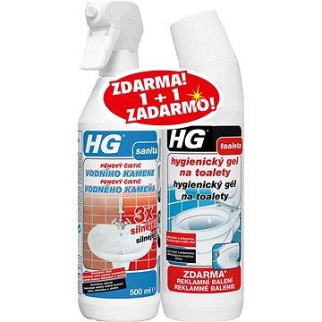 HG Vodní kámen 3× silnější + gel 500 ml - Čisticí prostředek