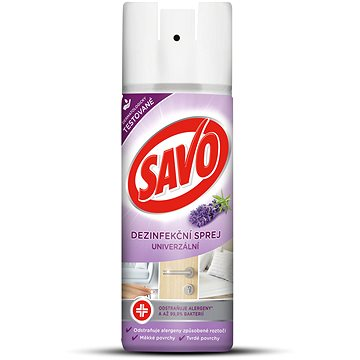 SAVO Univerzální dezinfekční sprej - levandule 200 ml - Dezinfekce