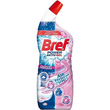 BREF Power Aktiv Gel Flower 700 ml - WC čistič