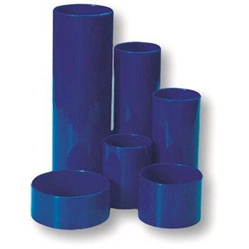 CONCORDE plastový šestidílný, modrý - Stojánek na tužky