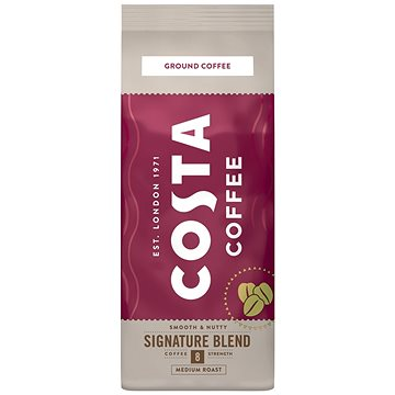 Costa Coffee Signature Blend Medium Mletá káva, 200g - Káva