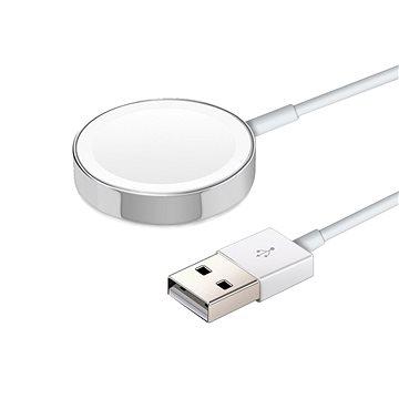 COTEetCI magnetická nabíječka pro Apple Watch 1m bílá - Bezdrátová nabíječka