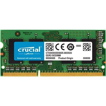 Crucial SO-DIMM 4GB DDR3L 1600MHz CL11 - Operační paměť