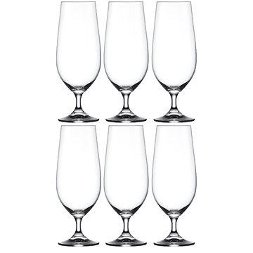 Crystalex sklenice na pivo LARA 380ml 6ks - Sklenice na pivo