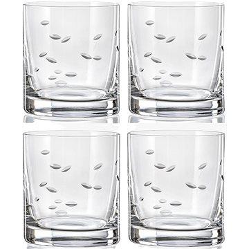 CRYSTALEX WHISKY odlivka 28 cl brus leštěný - Sada sklenic