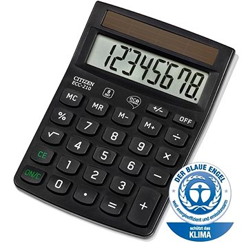CITIZEN ECC210 černá - Kalkulačka