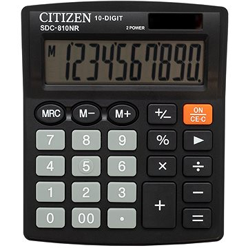 CITIZEN SDC810NR černá - Kalkulačka