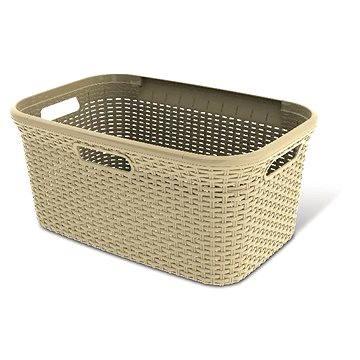 Curver Rattan 45l 00708-885 - Koš na prádlo