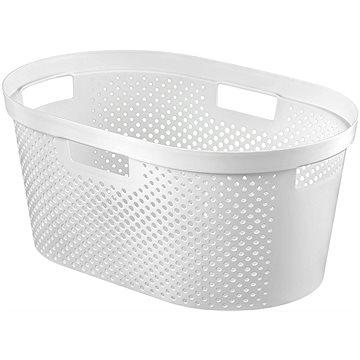 Curver Koš na čisté prádlo INFINITY 39L- bílý - Koš na prádlo